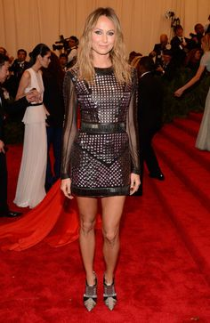 Stacy Keibler at the Met Gala 2013.