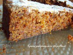 oatmeal mug cake Greek Desserts, Greek Recipes, Cooking Cake, Fun Cooking, Cupcakes, Cake Cookies, Best Cake Recipes, Dessert Recipes, Brownie Cake