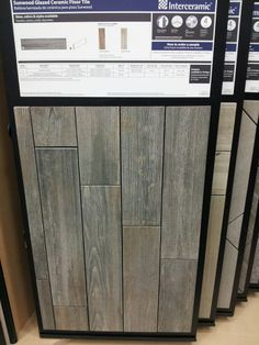 Genial I Love This Faux Wood Ceramic Tile Floor At Loweu0027s! It Looks Like Reclaimed  Barn Wood. Am I Brave Enough To Do It??