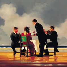 Elegy for the Dead Admiral (Large) from Jack Vettriano available now from Evergreen Art Cafe