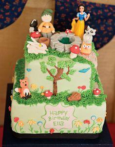 Woodland Fairytale Snow White Birthday Party