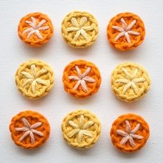 These super-cute crochet buttons are quick and easy to make with this step-by-step tutorial.