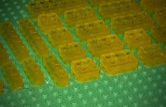 lego mold candy gummies by imtopsyturvy.com, via Flickr - the gummies recipe to go with the mold