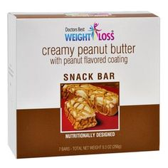 (7 bars per box) A creamy mousse topping, drizzled with peanut butter on top of a crispy bar, surrounded in sweet peanut butter.Our Creamy Peanut Butter Snack bars have a unique, refined flavor profile to provide an amazing taste experience. Use them as a snack or dessert, you deserve it!...