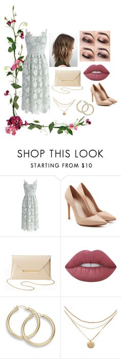 """""""Spring outfit"""" by rebeccaball37 on Polyvore featuring Chicwish, Alexander McQueen, Charlotte Russe and Lime Crime"""