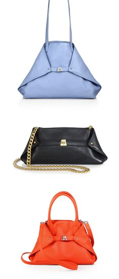 Great things come in small packages. Grab your new piece of arm candy from the handbag collection by Akris.