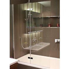Hart Double Folding Bath Screen