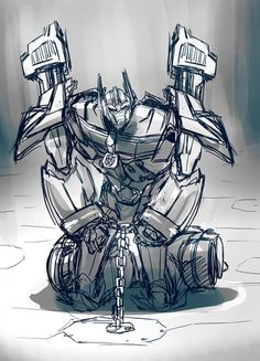 Ultra magnus - I title this one ' Patience '