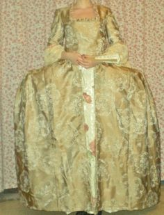 Check out this item in my Etsy shop https://www.etsy.com/listing/201865836/misses-18th-century-court-dress