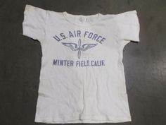 US Air Force Minter Field T Shirt front