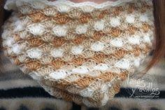 Tutorial Cuello o Bufanda Crochet Circle Scarf