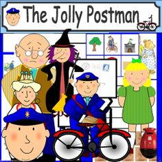 THE JOLLY POSTMAN teaching resources story sack KS1 EYFS Resource CHILDMINDER Resource provided on a handy disc ready to print out only £3.49