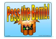 Feelings Lesson Pass The Bomb Game
