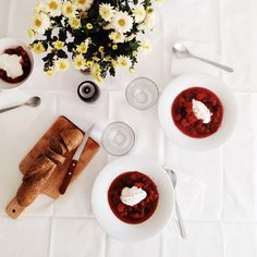 Beet Soup - one of our favorite, healthy, rich and delicious comfort soup recipe that...