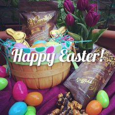 With so many flavors of merrillos popcorn to choose from which is happy easter from merrillos merrillos popcorn is the perfect gift to add to your easter negle Choice Image