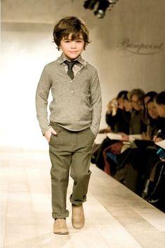 #TuFiestaTipInfantil -La moda infantil se hace presente para este próximo otoño, moda divertida para niños de hoy.