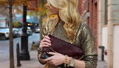 Metallic Sweaters: Is This Trend Striking Gold Or Striking Out?