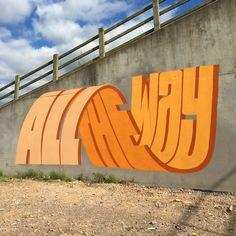 This Street Artist Uses Incredible Typography – Fubiz Media art art graffiti art graffiti definition art graffiti quotes art graffiti words art quotes wall art quotes 3d Street Art, Street Art Graffiti, Street Artists, New York Street Art, 3d Street Painting, New York Graffiti, Best Street Art, Banksy Graffiti, Graffiti Lettering