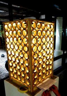 Bamboo Basics- Lamp on Behance