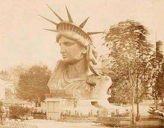 Happy 130th birthday Lady Liberty: Rare photos of the Statue of Liberty under construction│NY Daily News