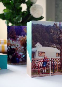 Tutorial: Two lovely photo gift ideas for Mother's Day via we-are-scout.com