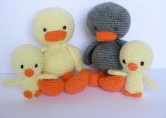 Amigurumi Little Duck, Crochet Little Duck, Amigurumi Chick, Amigurumi Toy, Amigurumi Duck,Crochet Plush, Amigurumi Animal di IaiaHobbyCrochet su Etsy