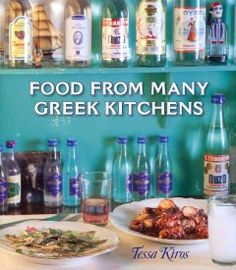 Features recipes of traditional Greek cuisine for each meal of the day and special holidays, with color photographs, synonymous title names, cooking tips, and background information for each recipe.