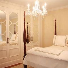 Master Bedroom Closets Design Ideas, LOVE those doors.