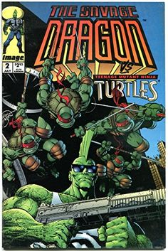 SAVAGE DRAGON #1 2 3 4, 6, VF 1993, Erik Larsen, TMNT, 5 issues, more in store for USD32.99 #issues Like the SAVAGE DRAGON #1 2 3 4, 6, VF 1993, Erik Larsen, TMNT, 5 issues, more in store? Get it at USD32.99!