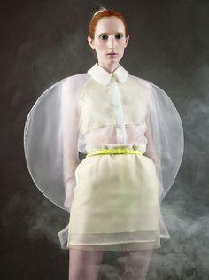 Fangwen Xu, student of the London College of Fashion