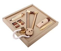 Soopsori wooden doctor kit | coolest birthday gifts for 2 year olds