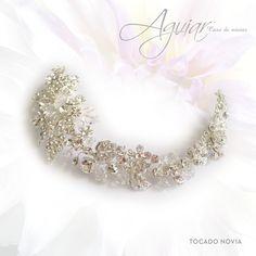 #Diadema #Cristal #Swarovski #Elegante #Versátil #Complemento #Peinado.