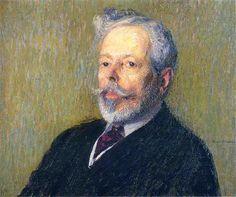 Self Portrait - Henri Martin