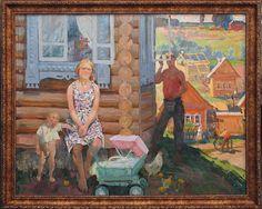 Горбунов Игорь Сергеевич (Россия, 1934 - 1966) «На улице новой»
