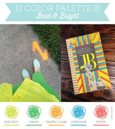 Bold Palette! Try This With Our Factory Yellow, Forest, Mango, Tabriz Blue