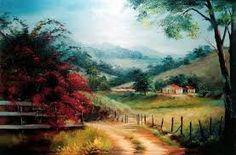 caminhos pintura oleo ile ilgili görsel sonucu