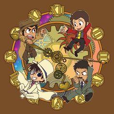 Magic Kaito x Lupin III