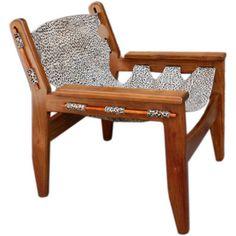 Kilin Brazilian Armchair by Sergio Rodrigues - Mid-Century Modern Armchairs