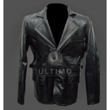 Anthony Stowe Van Damme Until Death Leather Coat