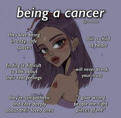 Zodiac Signs Chart, Best Zodiac Sign, Zodiac Sign Traits, Zodiac Signs Astrology, Zodiac Star Signs, Cancer Zodiac Facts, Cancer Horoscope, Cancer Quotes, Zodiac Signs Pictures