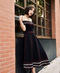 Maje REMORD dress featured by Faye Tsui