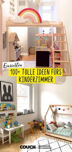 Einrichtungsideen fürs Kinderzimmer Here you will find the most beautiful interior design ideas for the nursery! From the loft bed to the play area to storage space ideas, berlin. Baby Room Boy, Girl Room, Nursery Room, Nursery Decor, Room Decor, Nursery Ideas, Room Ideas, Beautiful Interior Design, Beautiful Interiors