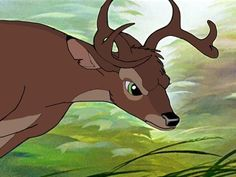I'm joining DWOW as Ronno (hopefully) and I needed a screenshot of him for my avatar/application form, but I wanted him to look less like adult Bambi an. Disney Pixar, Bambi Disney, Disney Fan Art, Disney Animation, Disney And Dreamworks, Disney Love, Disney Phone Wallpaper, Cartoon Wallpaper, Bambi Art
