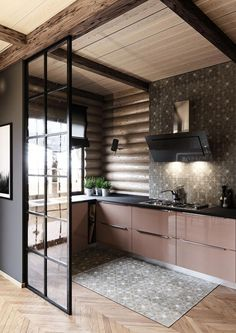 """""""from spain with design"""" Modern Kitchen Interiors, Modern Kitchen Design, Interior Design Kitchen, Home Room Design, House Design, Küchen Design, Design Case, House Rooms, Style At Home"""