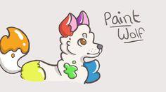 Paintwolf!~ by SqashiePickles on DeviantArt