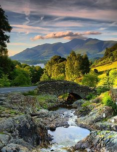 bellasecretgarden: Ashness Bridge, Lake District (by Tall Guy / Flickr) — FUCKITANDMOVETOBRITAIN