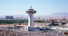 Landmark. Las Vegas, 1974. The original MGM Grand (now Bally's) is seen in the…