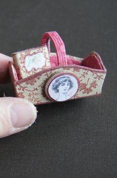 Nono mini Nostalgia: MINIATURE BASKET TUTORIAL - Dolls Miniatures Z