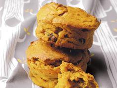 Muffins au potiron et aux noix - Enfant.com