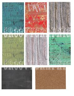 INSTANT Download ATC size backgrounds wood by groovygraphics, $3.00